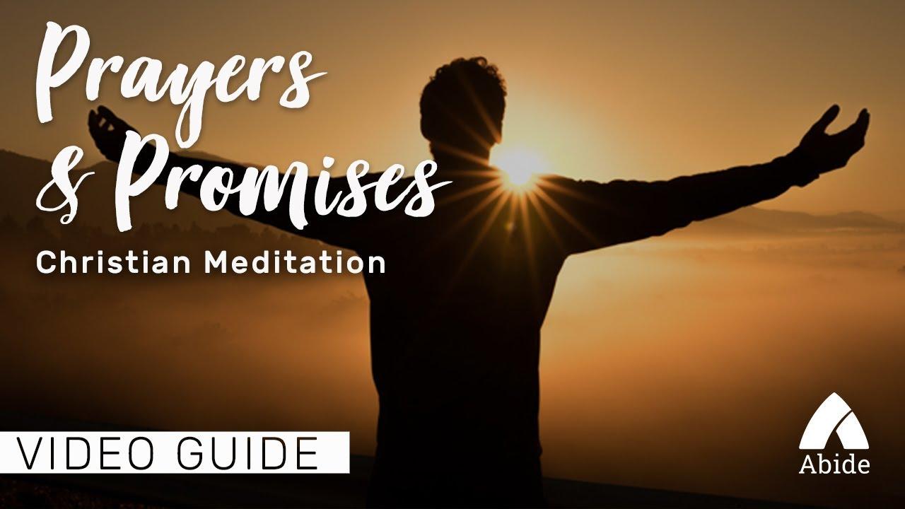 Sleep Meditation: Prayers & Promises (3 Hours)