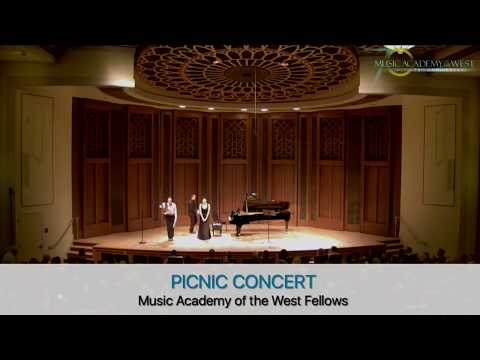 JUL 7 PICNIC CONCERT AT THE MUSIC ACADEMY OF THE WEST