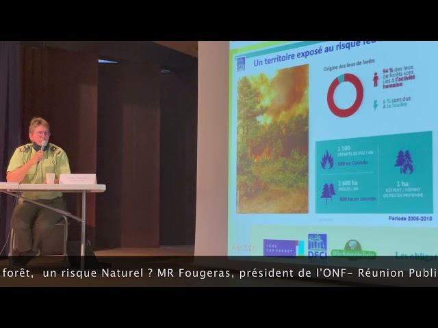 06 Protection de la presqu'île du Cap Ferret - PALCF ONF LE risque Incendie  Risque Naturel ?