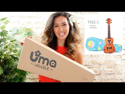 My Daughter Won't Give It Back! Bread Tree C Uma Ukulele Unboxing/Review