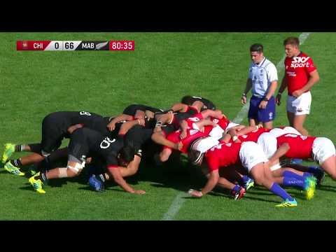 HIGHLIGHTS: Māori All Blacks v Chile 2018