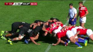 HIGHLIGHTS: Māori All Blacks v Chile 2018