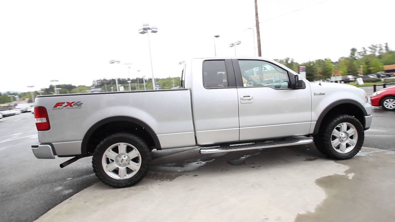 2007 ford f 150 fx4 silver clearcoat metallic 7fb88151 mt vernon skagit