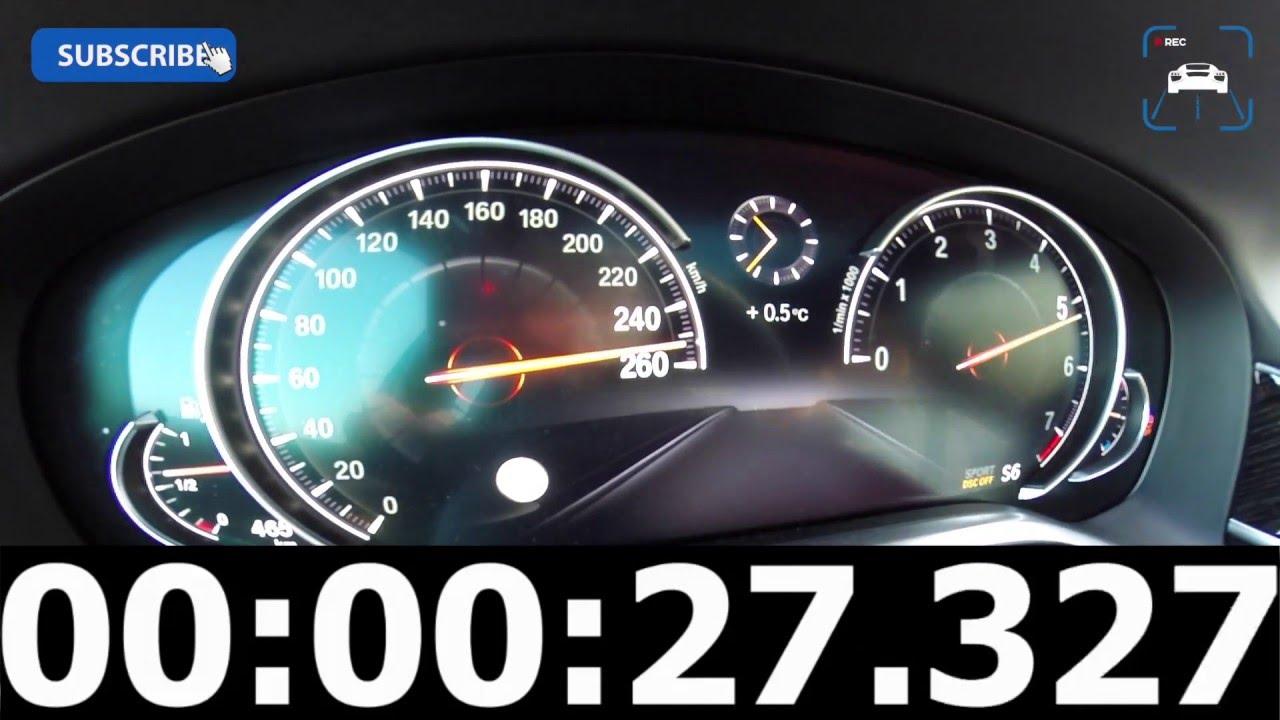 2016 Bmw 7 Series 750i 4 4 V8 Biturbo 0 260 Km H