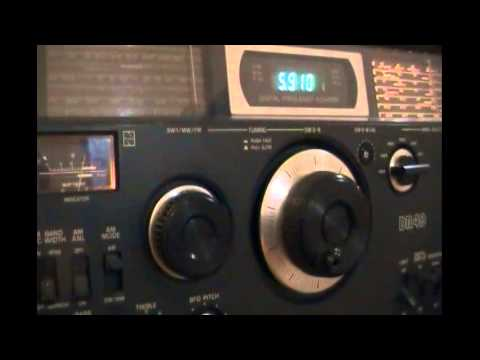 NHK World Radio Japan (relay Issoudun, France) - Japanese to Central America - 5910 kHz