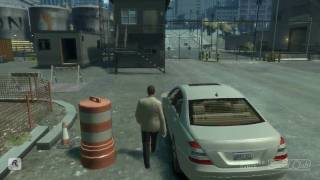 GTA IV- Белый Мерин