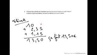 Correction CRPE 2020 didactique maths