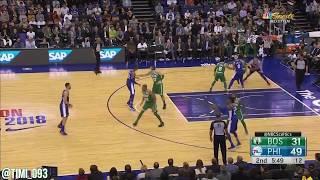 Boston Celtics Defensive Highlights vs Philadelphia 76ers (01/11/2018)