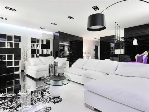 Idées d\'intérieur pour la maison en noir et blanc