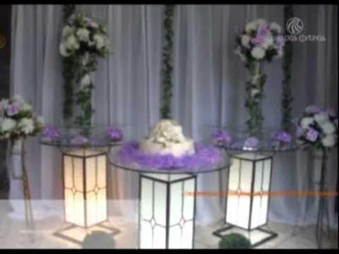 VT Casa das Cortinas - Decoração de Eventos - YouTube