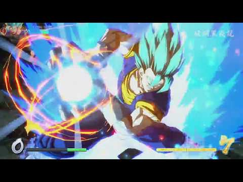 【DBFZ】 Vegito 100% without switching (Lv.2 Sparking) [Ver 1.09]