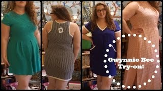 Gwynnie Bee Plus Size Try-On Haul! ♡ whirlsandcurls