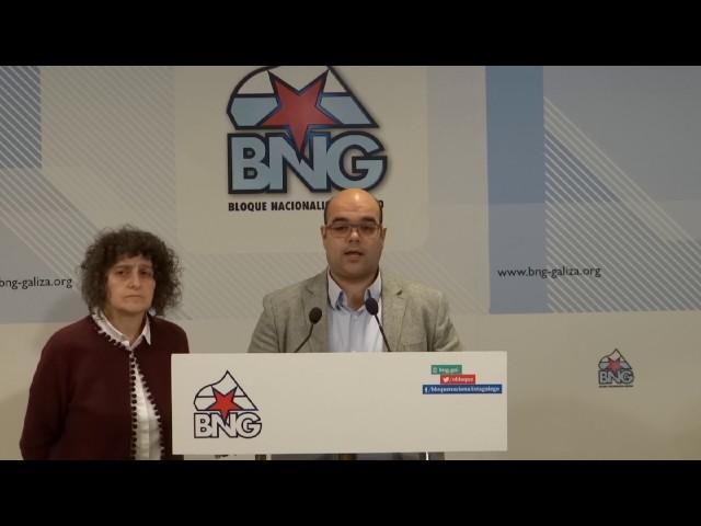 Rubén Cela presenta as teses da XVI Asemblea do BNG