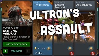 ULTRON'S ASSAULT! Variant Difficulty, Marvel Contest of Champions