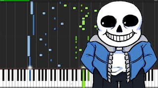 Song That Might Play When You Fight Sans - Undertale [Piano Tu…