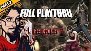 RESIDENT EVIL 4 (HD Project, Professional): 12 Hr. Playthru - Part 2 w/Maximilian