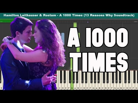 A 1000 Times Piano Tutorial - Hamilton Leithauser & Rostam (13 Reasons Why Soundtrack)