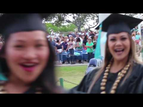 Honolulu Community College Graduation 2016
