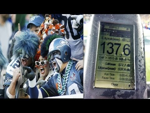 Seattle Seahawks fans so loud they caused earthquake
