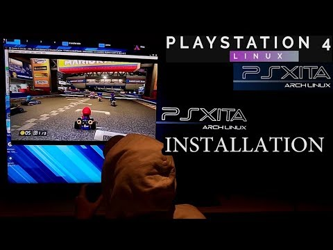 PS4 - Psxitarch Linux version 2 0 -A Linux distro for the PS4 by