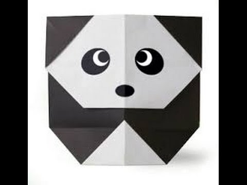 How To Make An Easy Origami Panda Bear