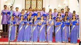 CSI IMMANUEL CHURCH CHOIR performing at Holy Trinity Cathedral, Kottayam. Song: Praise...