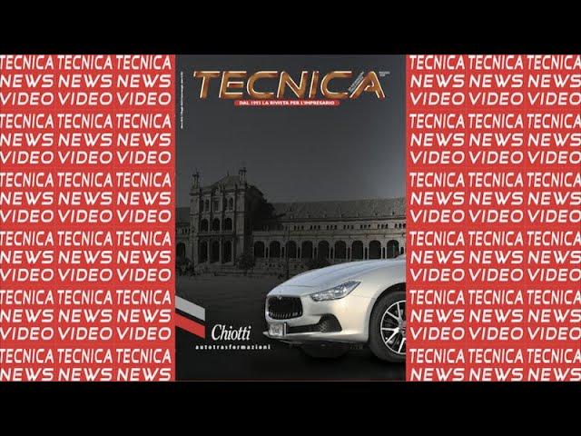 Anteprima Tecnica Maggio 2020 Tecnicanews Video