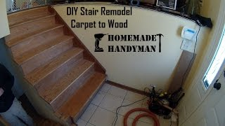 Hmhm Stairs Remodel Time Lapse
