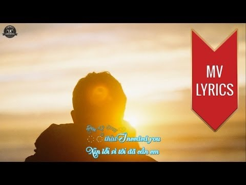 Sorry That I Loved You | Anthony Neely | Lyrics [Kara + Vietsub HD]