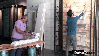 Strafor Duvar Panelleri Uygulama ( Strafor Duvar Kaplama )