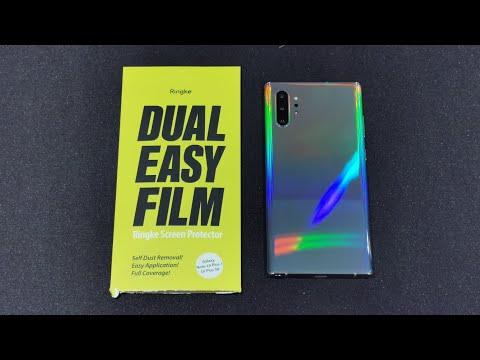 Note 10 Plus Ringke Screen Protector