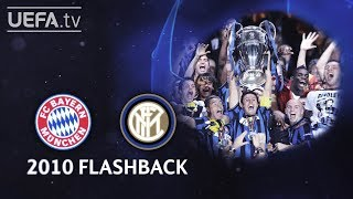 BAYERN 0-2 INTERNAZIONALE: #UCL 2010 FINAL FLASHBACK