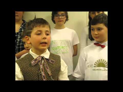 """""""Sasaucamies Latvju bērni visā plašā pasaulē"""""""