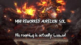 Aurelion Sol Funny Montage - Mini reworked Aurelion Sol gameplay League of Legends