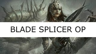 blade splicer is op modern gw death and taxes