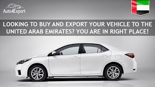 Shipping cars from USA to UAE / Jebel Ali - Auto4Export