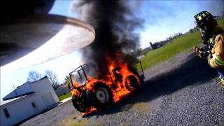 4-18-16 Tractor Fire