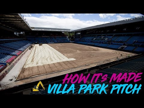 Villa Park Pitch Renovation | How It's Made