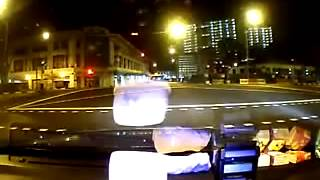 Scary car accident in Singapore on dashcam! NEW 2 car accident