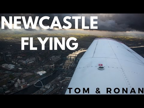 PA-28 - Newcastle upon Tyne to Carlisle!