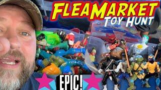 Awesome Flea Market Toy Hunt!!!