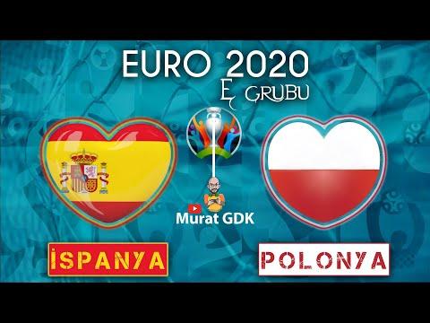 İSPANYA - POLONYA ( Euro 2020 E Grubu 2. Maçı ) / FIFA 21 - PES 2021