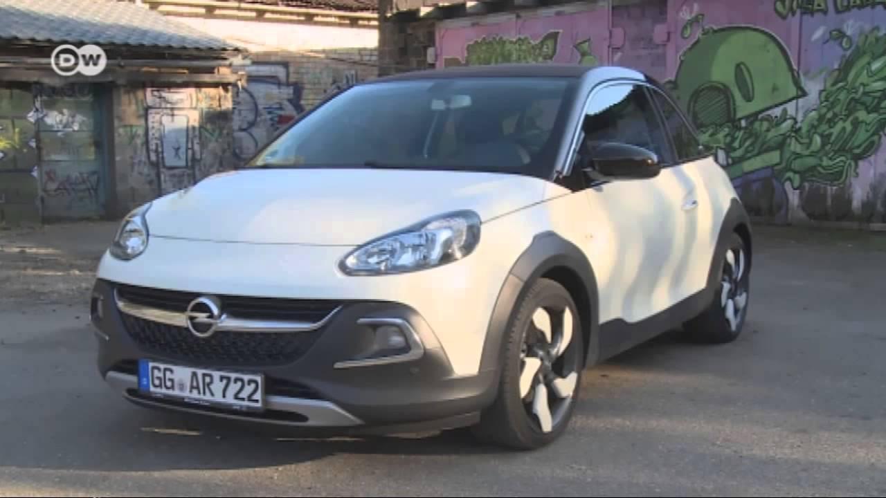 Outdoor Look Mit Stoffdach Opel Adam Rocks Motor Mobil
