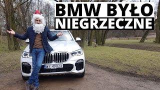 """""""BMW było niegrzeczne"""" - nowe X5 oczami Świętego Mikołaja"""