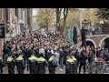 C1: Ajax - Chelsea Fans In Amsterdam Before The Game