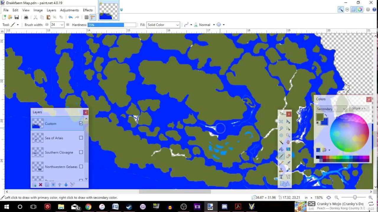 World Map Making Software.Dungeons Dragons World Map Making 12 9 17 Youtube