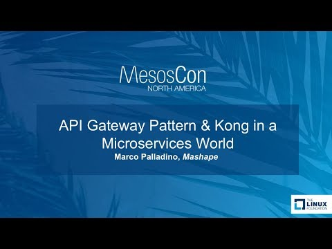 API Gateway Pattern & Kong in a Microservices World - YouTube