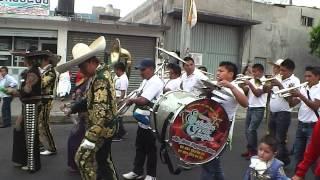 CHARROS SANTA MARIA AZTAHUACAN BANDA ESTRELLAS DEL PACIFICO LA MORENA CARNAVAL 2014