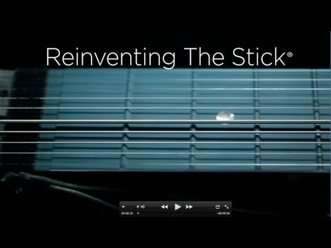 The Railboard™ - Reinventing The Chapman Stick - new two-handed tapping instrument