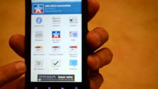 AEA 2012 Convention Mobile App